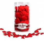 Шелковые лепестки With Love Rose Scented Silk Petals